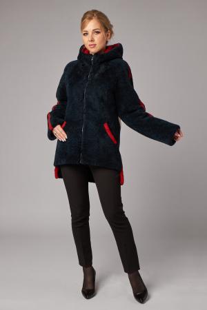 Меховая куртка из овчины керли