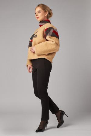 Меховая куртка из овчины кёрли