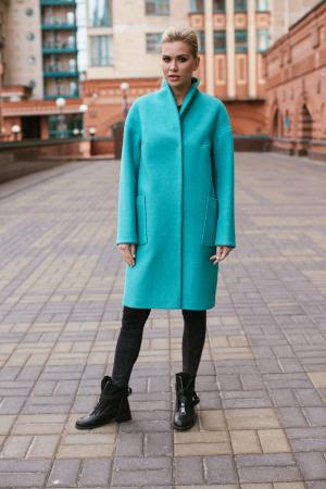 Пальто прямого силуэта